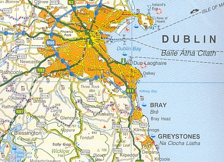 Os Map Of Ireland.Osi Ireland Touring Map 1 450 000 1 903974 42 9