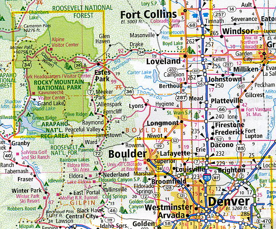 EASY TO READ Kansas State Map By Rand Mcnally on map of all georgia cities, map of colorado and nebraska borders, map of indiana area, map tilden nebraska, map of montana, map of eastern wyoming,